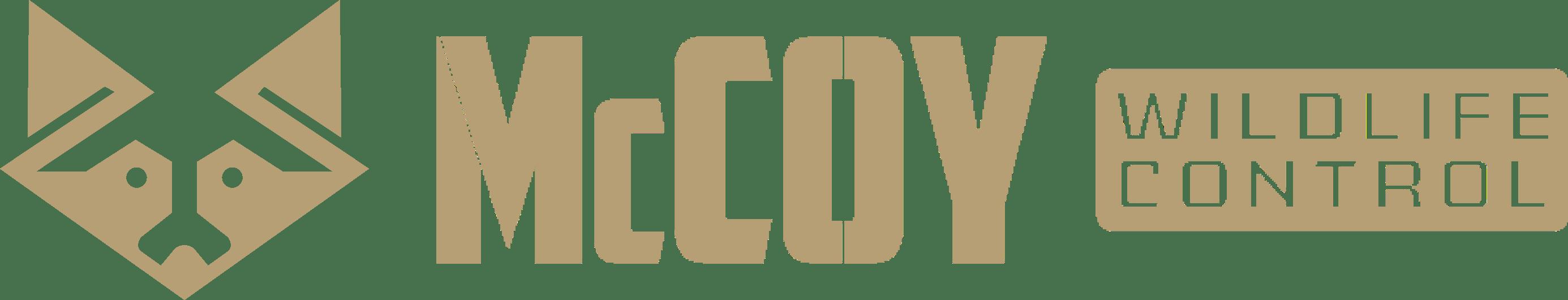 McCoy Wildlife Control Text Logo Full